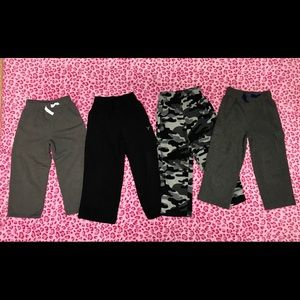 Bundle of Boys Sweatpants Size 4T,5T